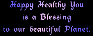 happy healthy you is a blessing